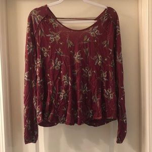 Free People Backless Top Small